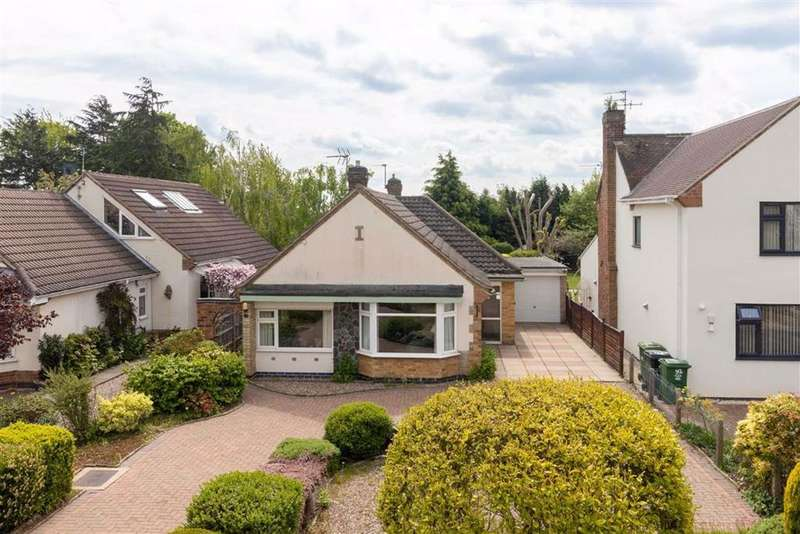 3 Bedrooms Detached Bungalow for sale in Holywell Drive, Loughborough, LE11