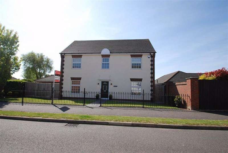 4 Bedrooms Detached House for sale in Ashton Hall Drive, Boston