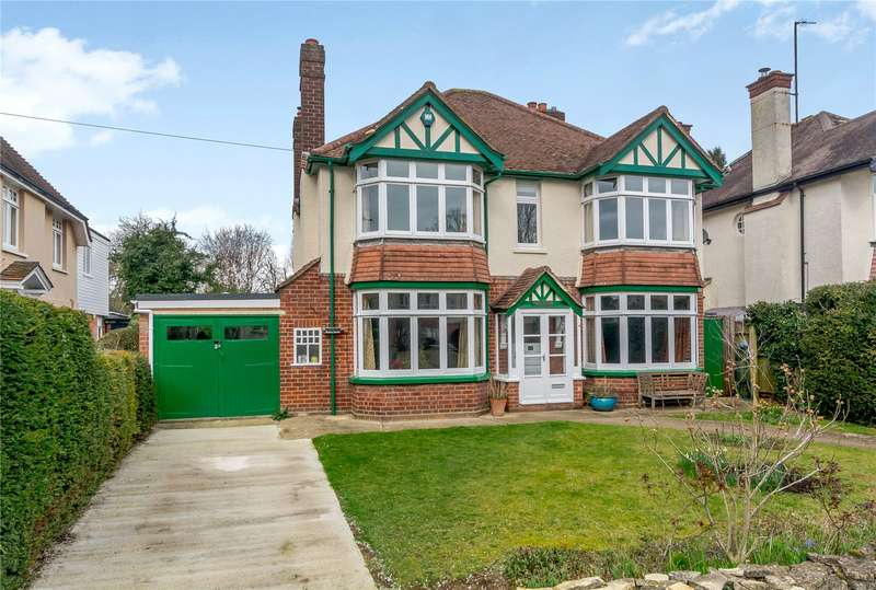 4 Bedrooms Detached House for sale in Apsley Road, North Oxford, OX2
