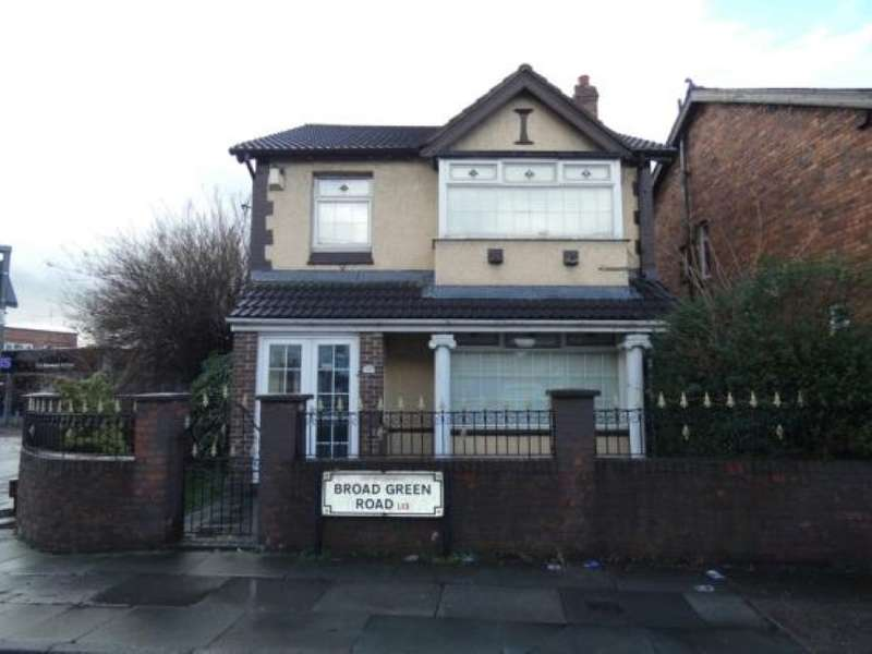 5 Bedrooms Detached House for sale in 130 Broad Green Road, Liverpool, Merseyside
