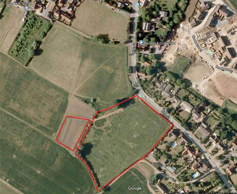 Land Commercial for sale in Land To The South West Side Of, High Street, Great Barford