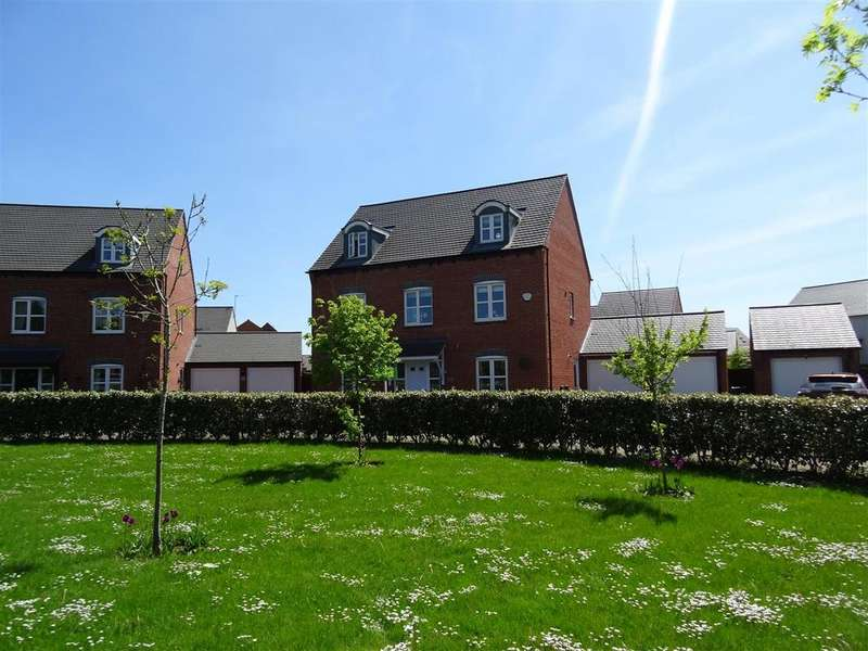 5 Bedrooms Detached House for sale in Usbourne Way, Ibstock, Leicestershire
