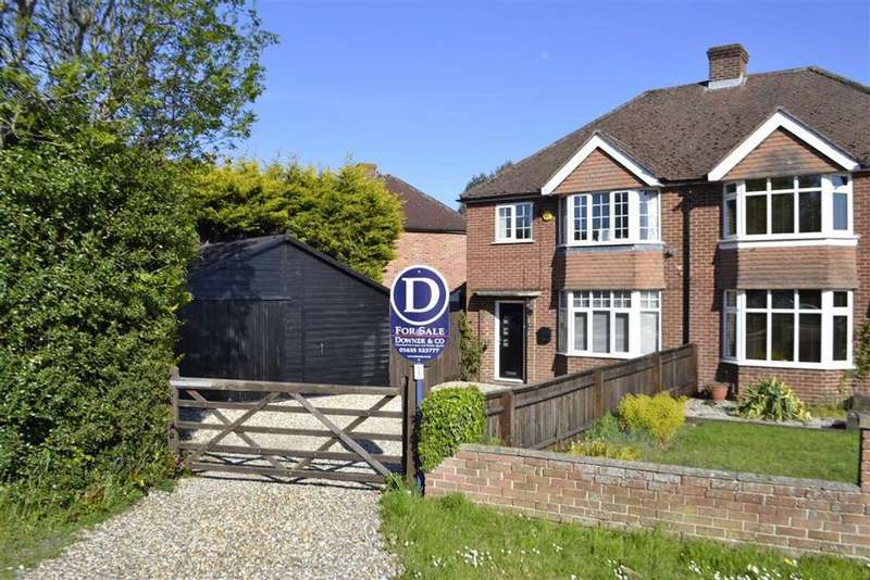 3 Bedrooms Semi Detached House for sale in Southdown Road, Benham Hill, Thatcham, Berkshire, RG19