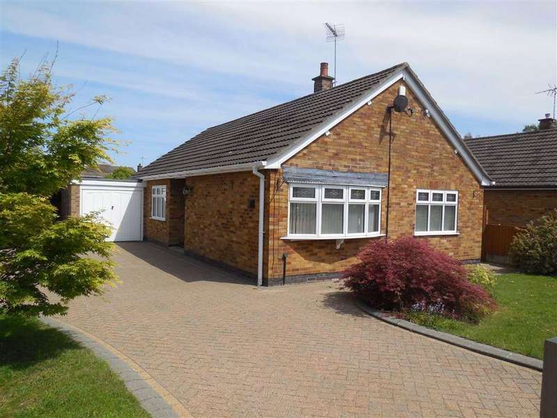 3 Bedrooms Detached Bungalow for sale in Meadow Drive, Burbage