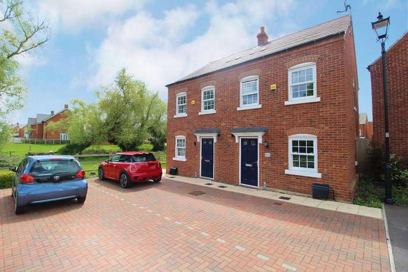 2 Bedrooms Semi Detached House for sale in Griffin Way, Kempston, MK42