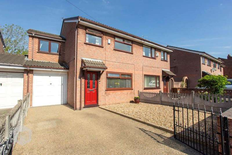 4 Bedrooms Semi Detached House for sale in George Street, Hindley, Wigan, WN2