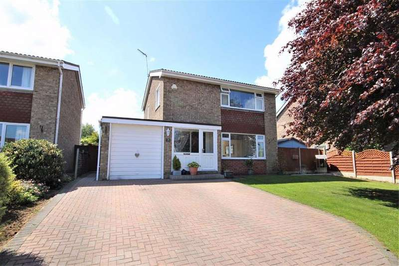3 Bedrooms Detached House for sale in Durham Crescent, Washingborough, Lincoln, Lincolnshire