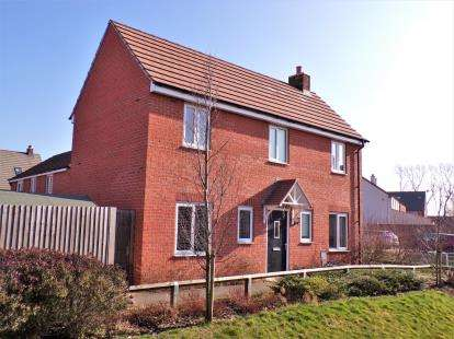 4 Bedrooms Detached House for sale in Sansome Drive, Hinckley, Leicester