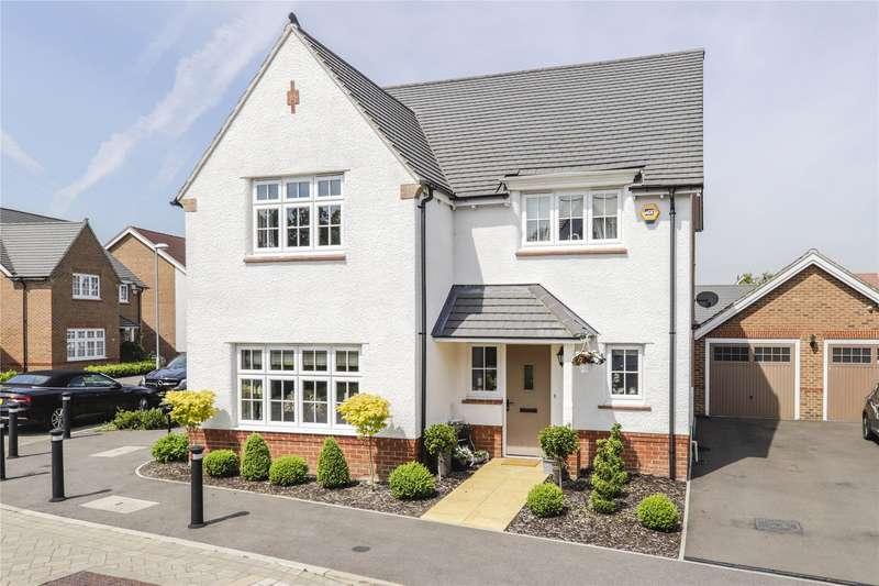 4 Bedrooms Detached House for sale in Kingfisher Chase, Jennett's Park, Bracknell, Berkshire, RG12