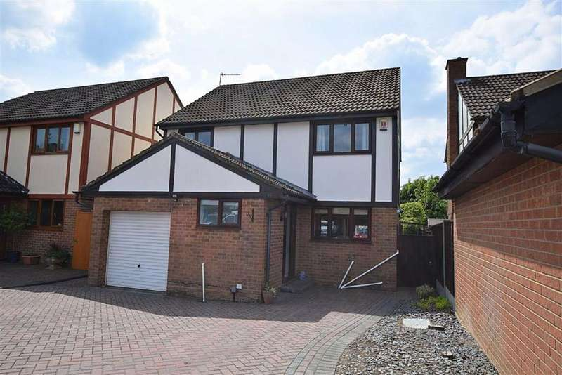4 Bedrooms Detached House for sale in Ashton Close, Abbeydale, Gloucester, Gloucester