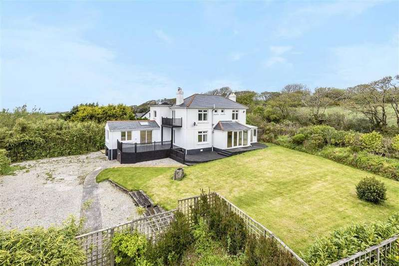 4 Bedrooms Detached House for sale in Higher Crackington, Bude, Cornwall, EX23