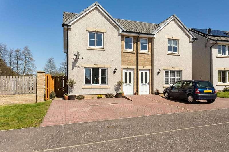 3 Bedrooms Semi-detached Villa House for sale in Earl Matthew Avenue, Arbroath, Angus, DD11 5JU