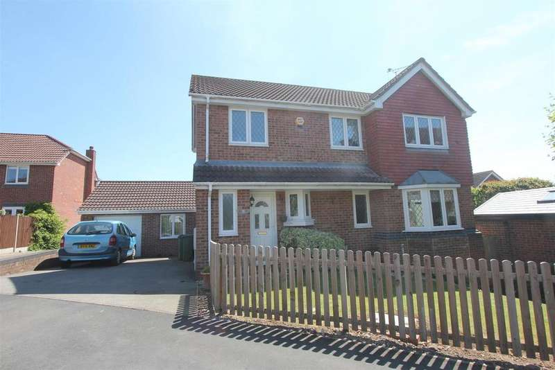 3 Bedrooms Detached House for sale in Chantry Close, Huncote
