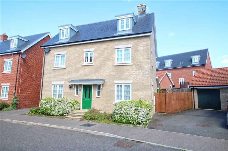 5 Bedrooms Detached House for sale in Axial Drive, Colchester