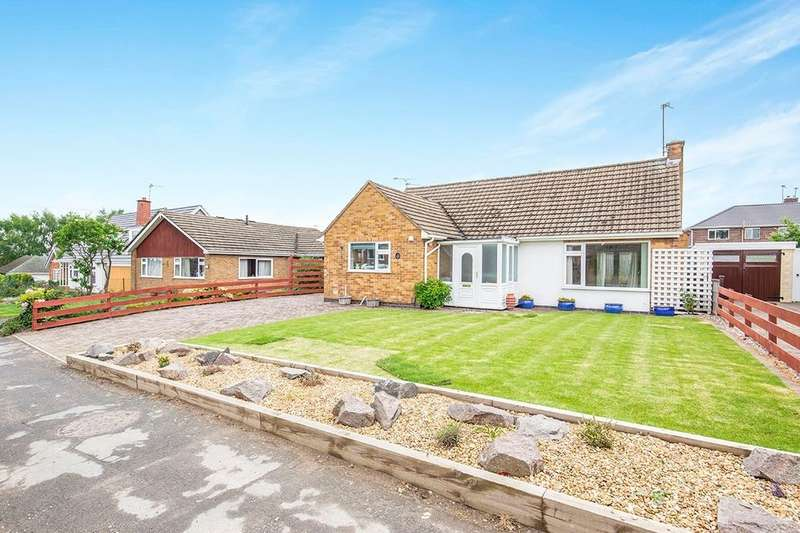 2 Bedrooms Detached Bungalow for sale in Anson Road, Shepshed, Loughborough, LE12