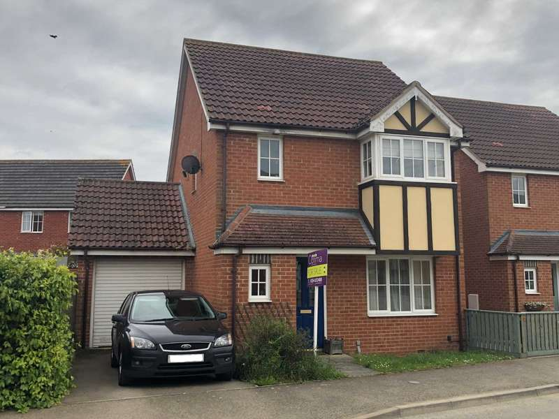 3 Bedrooms Detached House for sale in Scholars Close, Manea
