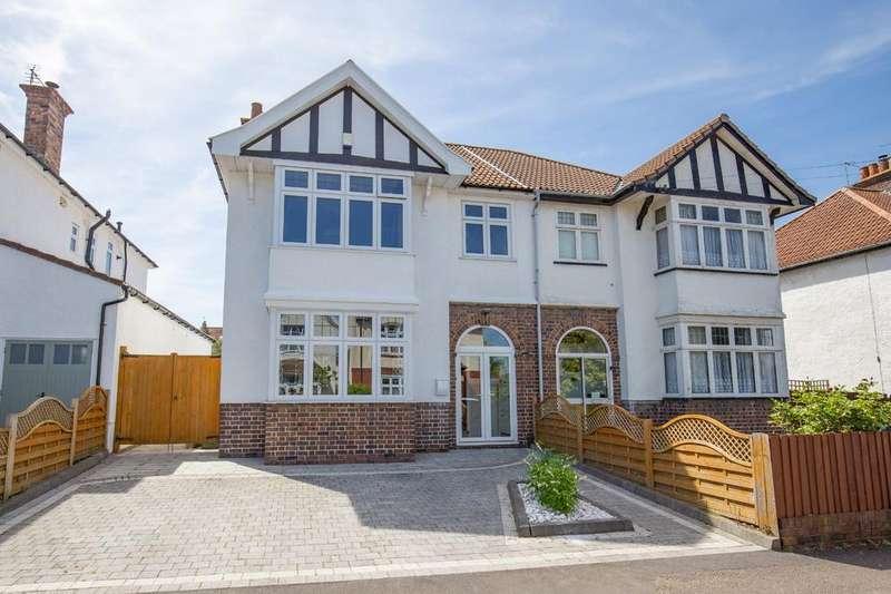 4 Bedrooms Semi Detached House for sale in Henleaze Park Drive, Henleaze, Bristol, BS9