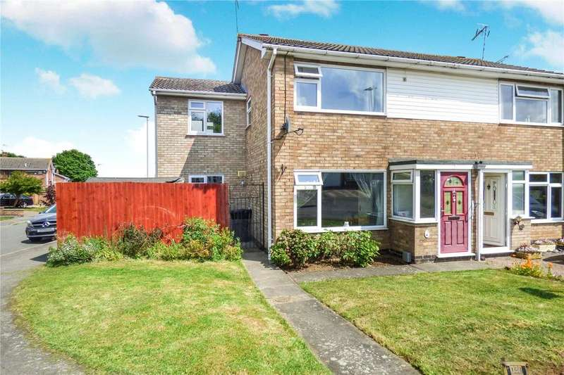 3 Bedrooms Semi Detached House for sale in Warwick Road, Broughton Astley, Leicester, Leicestershire, LE9