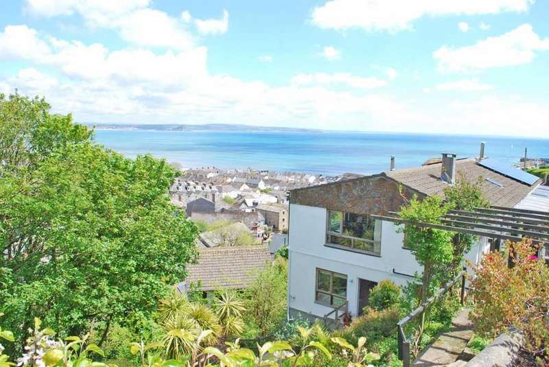 4 Bedrooms Semi Detached House for sale in Newlyn, Penzance, West Cornwall