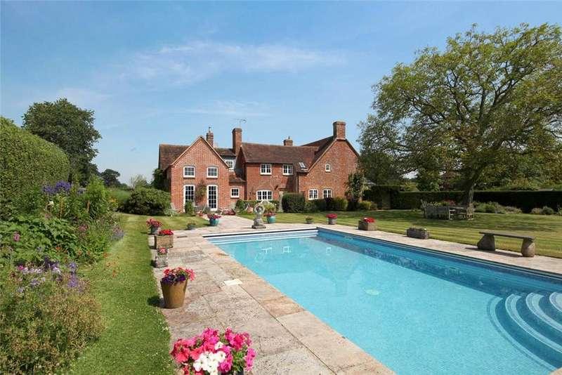 5 Bedrooms Detached House for sale in Cufaude Lane, Bramley, Basingstoke, Hants, RG26