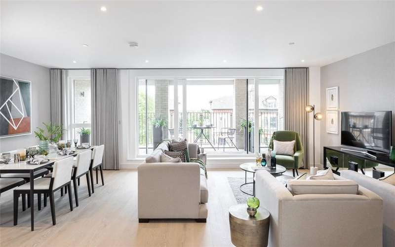 3 Bedrooms Apartment Flat for sale in The Avenue, Brondesbury Park, NW6