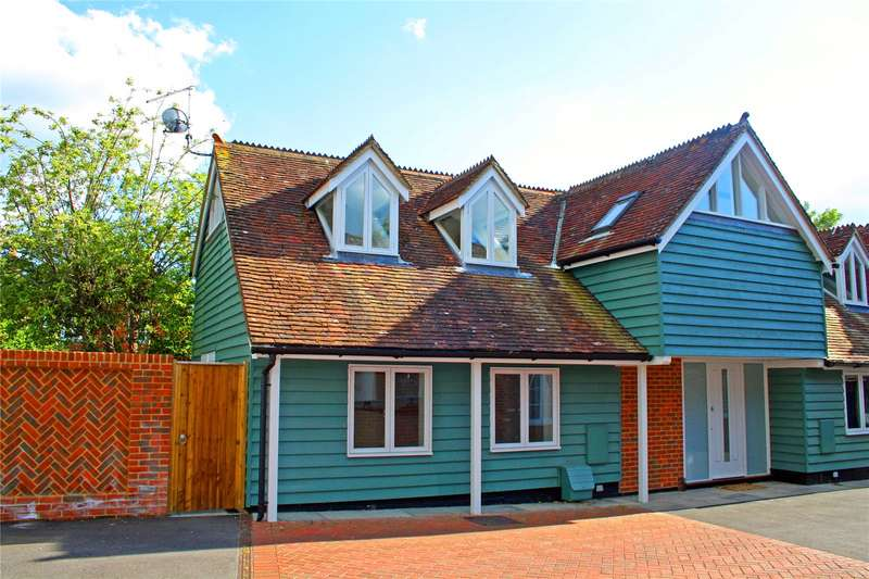 2 Bedrooms Semi Detached House for sale in Portersbridge Mews, Portersbridge Street, Romsey, Hampshire, SO51