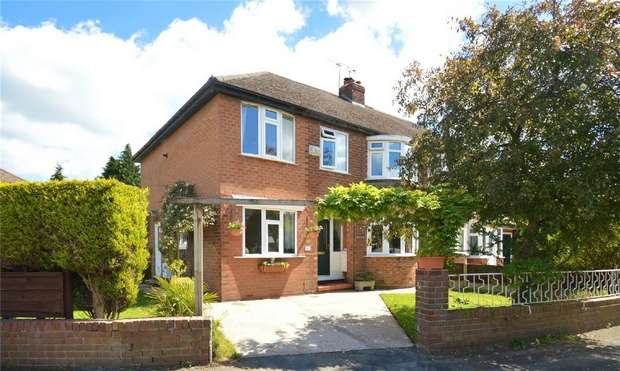 5 Bedrooms Semi Detached House for sale in Windermere Road, Handforth, Wilmslow, Cheshire