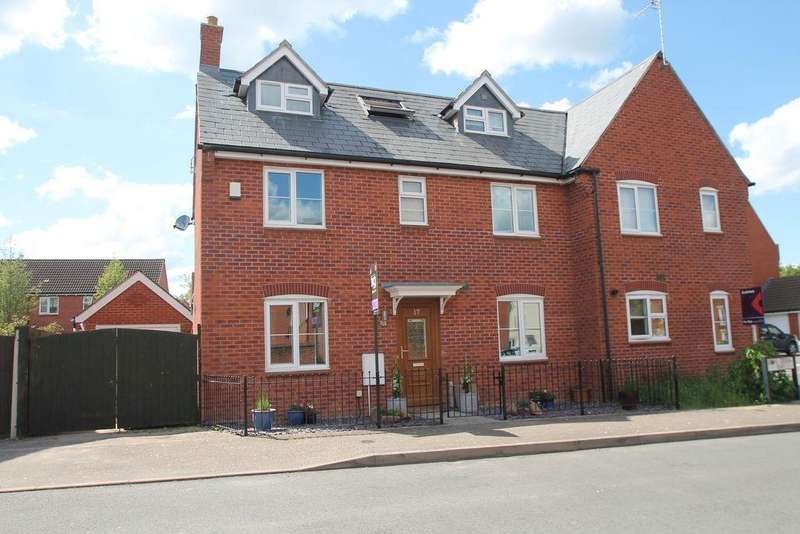 4 Bedrooms Semi Detached House for sale in Second Crossing Road, Walton Cardiff, Tewkesbury