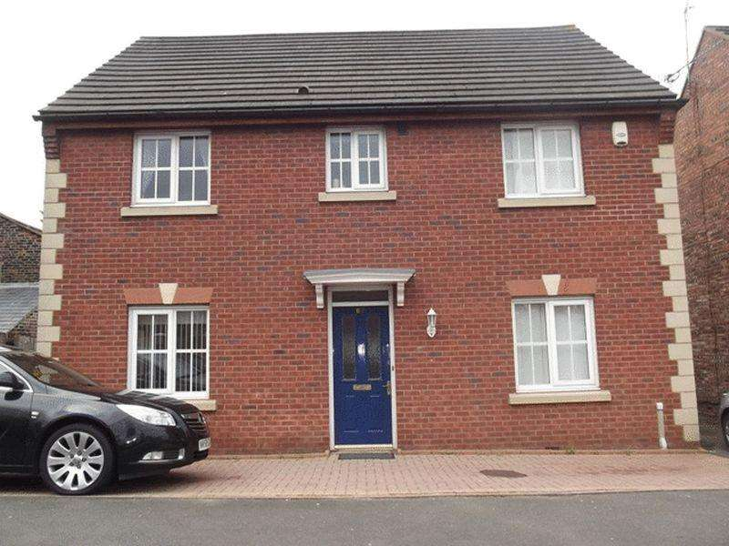 4 Bedrooms Detached House for sale in Saxon Way, Kirkby