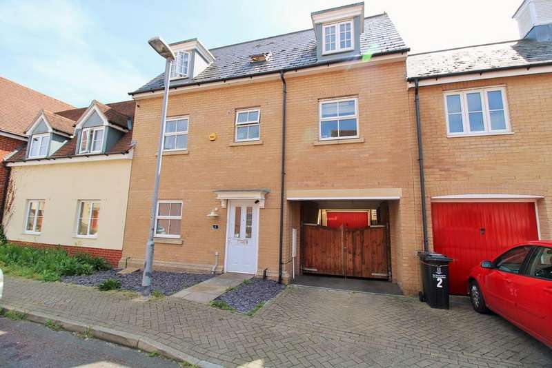 3 Bedrooms Town House for sale in James Parnell Drive, Colchester, CO2