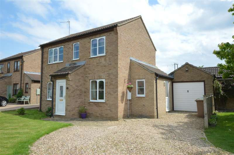 3 Bedrooms Detached House for sale in Maple Close, Leasingham