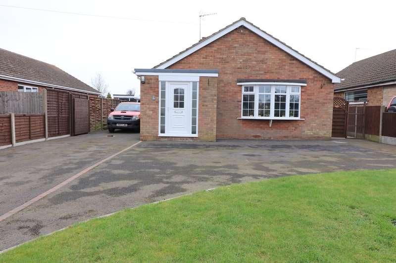 3 Bedrooms Bungalow for sale in Morton Road, Laughton, Gainsborough, Lincolnshire, DN21