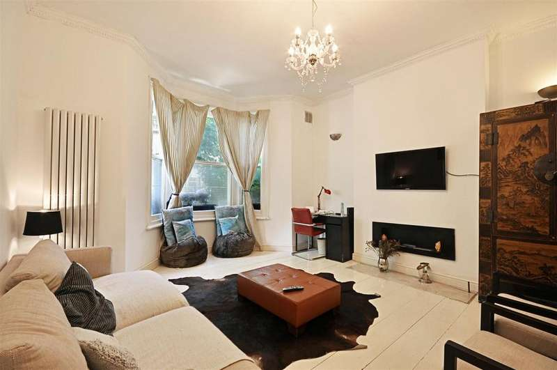 2 Bedrooms Flat for sale in Beauclerc Road, Hammersmith, London