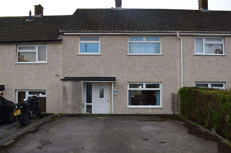3 Bedrooms Terraced House for sale in Aust Crescent, Bulwark, Chepstow, Monmouthshire. NP16 5NL