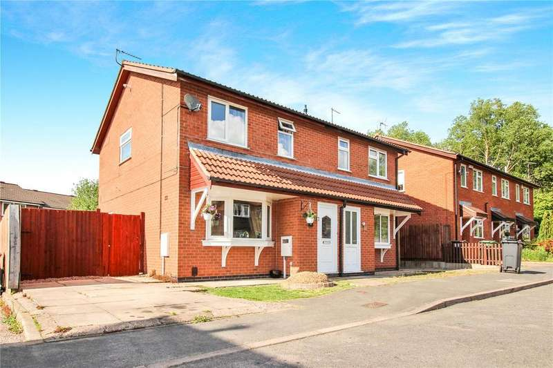 3 Bedrooms Semi Detached House for sale in Caernarvon Close, Mountsorrel, Loughborough, Leicestershire, LE12