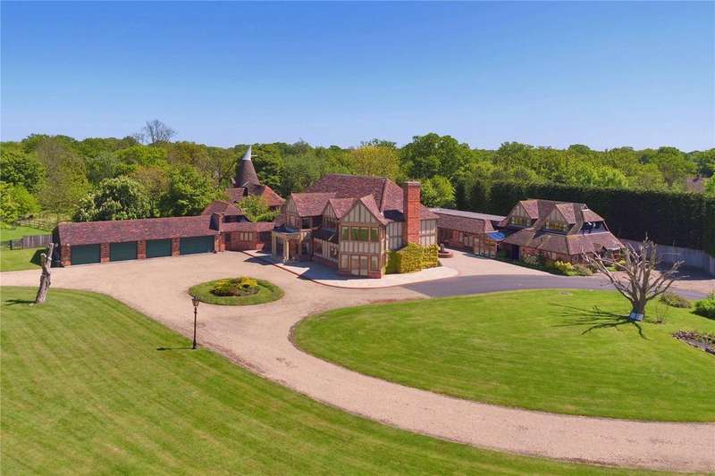 5 Bedrooms Equestrian Facility Character Property for sale in Ashford Road, High Halden, Ashford, Kent, TN26