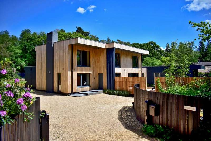4 Bedrooms Detached House for sale in Moonhills Lane, Moonhills Lane, Beaulieu, SO42
