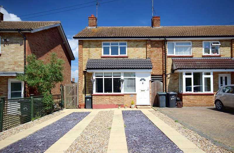 2 Bedrooms End Of Terrace House for sale in Bury Mead, Arlesey, SG15