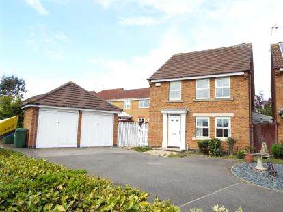 4 Bedrooms Detached House for sale in Murby Way, Thorpe Astley, Leicester, Leicestershire