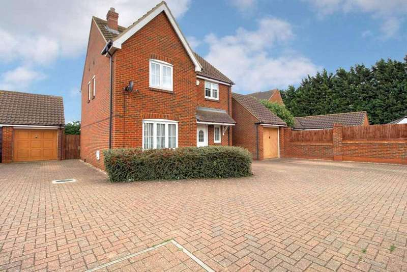 4 Bedrooms Detached House for sale in The Rickyard, Lower Shelton, Bedfordshire, MK43