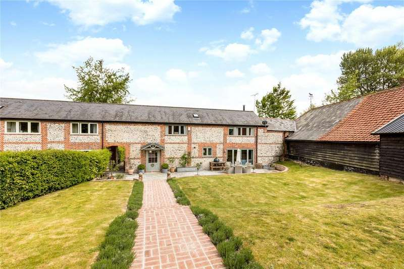 3 Bedrooms Unique Property for sale in Chapmansford Farm, Hurstbourne Priors, Whitchurch, Hampshire, RG28