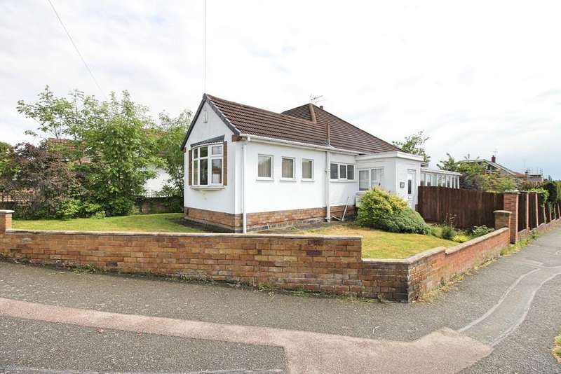 2 Bedrooms Semi Detached Bungalow for sale in Glen Rise, Glen Parva, Leicester