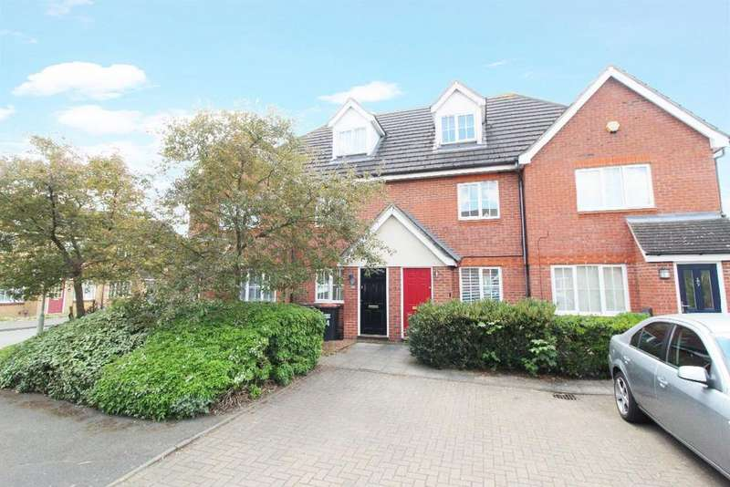 3 Bedrooms Town House for sale in Ellington Road, Bedford MK42