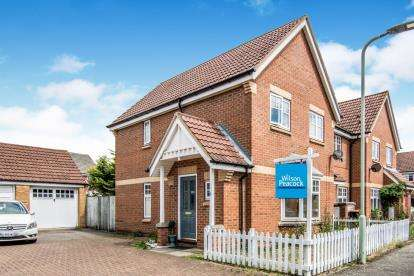 3 Bedrooms End Of Terrace House for sale in Cottril Way, Bedford, Bedfordshire