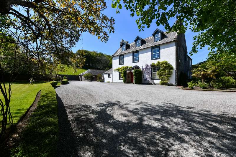 5 Bedrooms Detached House for sale in Corsbie West, Newton Stewart, Dumfries & Galloway, DG8