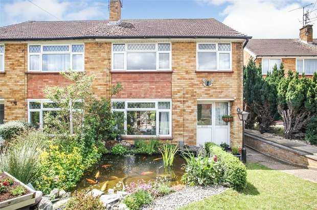 4 Bedrooms Semi Detached House for sale in Manton Road, Hitchin, Hertfordshire