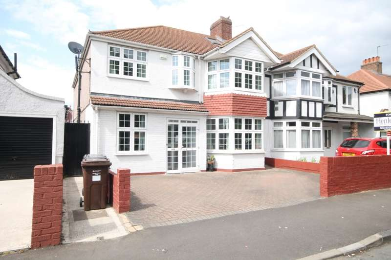 5 Bedrooms Semi Detached House for sale in Great West Road, Hounslow, TW5