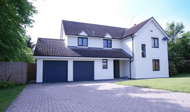 4 Bedrooms Detached House for sale in The Spinney, Cheltenham, GL52