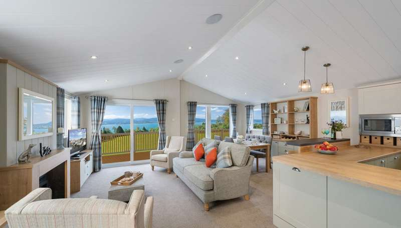2 Bedrooms Lodge Character Property for sale in Juliots Well Holiday Park, Cornwall