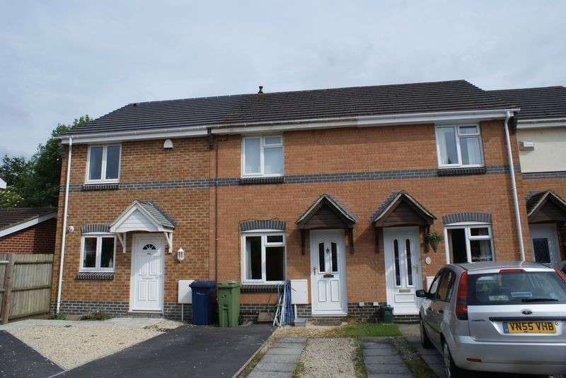 2 Bedrooms Terraced House for sale in RALEIGH CLOSE, CHURCHDOWN, GLOUCESTER